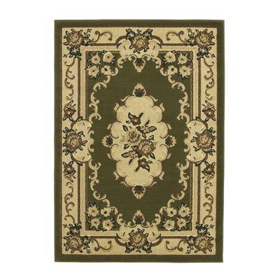 Oriental Carpets & Rugs Marakesh Light Green Rug - 150cm L x 80cm W