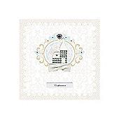 Diamante Church Confirmation Card