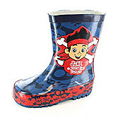 Jake and the Neverland Pirates Fleet Welly Various Sizes - Blue