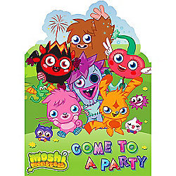 Moshi Monsters Party Invitation Cards (6pk)