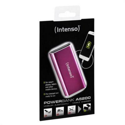 Intenso A5200 Lithium-Ion (Li-Ion) 5200mAh Pink power bank LiIon USB