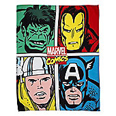 Marvel Comics Strike Fleece Blanket