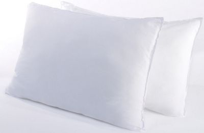 Egyptian Cotton Pillow Pair Hollowfibre Filling