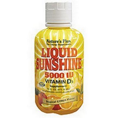 Natures Plus Liquid Sunshine 5000 iu 16floz Liquid
