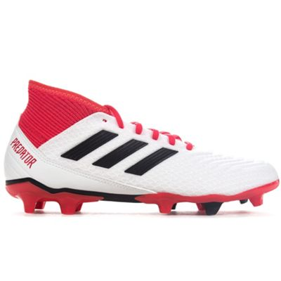 adidas Predator 18.3 Firm Ground Football Boot Black Cold Blooded - UK 8