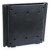 UM110 Black Flat Fixed LCD Wall Mount Plate 10 inch - 30 inch TV s