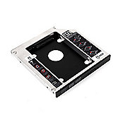 Duronic SATA 2nd HDD HD Caddy Case for 9.5mm Laptop CD / DVD Optical drive bay