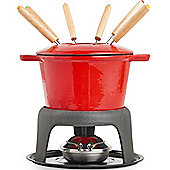 VonShef Cast Iron Fondue Set