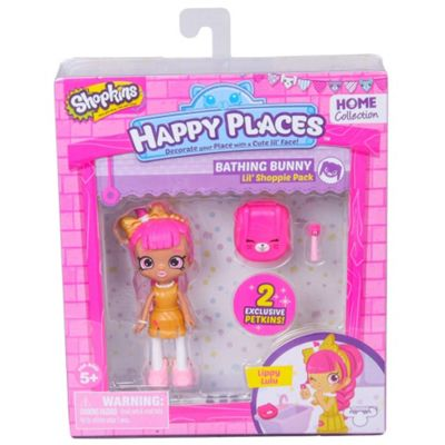 Shopkins Happy Places Lil Shoppie Doll Single Pack Lippy Lulu