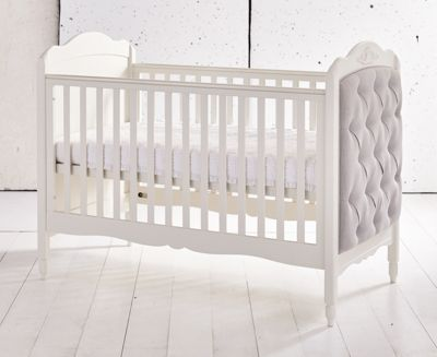 Mee-Go Epernay Cotbed/Pocket Sprung Mattress - Ivory White