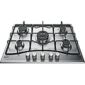 Hotpoint Gas Hob, PCN 752 U/IX/H, 75cm - Stainless Steel