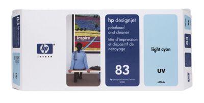 Hewlett-Packard No:83 Printhead and Printhead Cleaner Light cyan