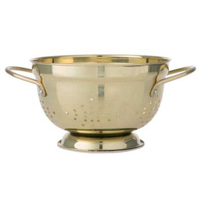 Bahne Colander Gold 14 x 22 x 22 cm