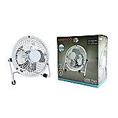 "Daewoo 4"" Inch USB Tilting Desk Fan"