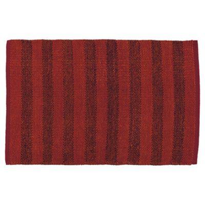 Tesco Rugs Red Rag Rug 60X90Cm