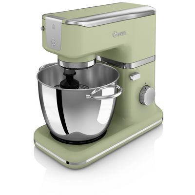 Swan Retro Stand Mixer With Bowl - Green