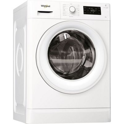 Whirlpool FWG81496W - 1400rpm Washing Machine 8kg Load, A+++ Energy Rating in White
