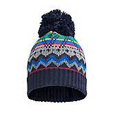 Mountain Warehouse Benny Knitted Kids Beanie - Blue