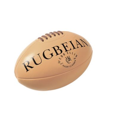 Webb Ellis Official Rugbeian Leather Rugby Ball Size mini