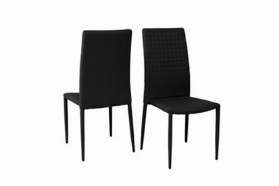 Cuba Dining Chair PU - black