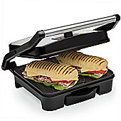 Andrew James Sandwich Toaster & Panini Press, 2000 Watts - Stainless Steel