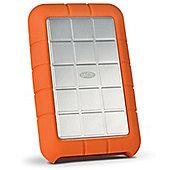 LaCie RUGGED TRIPLE 1TB 3.0 (3.1 Gen 1) 1000GB Orange White