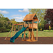 Selwood Hope Climbing Frame With Monkey Bars, Slide & Swings