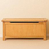 Roseland Oak Blanket Box