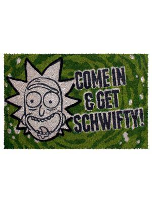 Rick and Morty Get Schwifty Door Mat