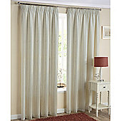 Enhanced Living Monaco Lined Voile Natural - 90x72 Inches (229x183cm)