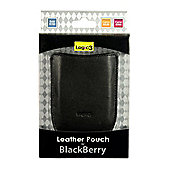 Logic 3 Leather Pouch for BlackBerry Curve & Bold 9700 - Apple