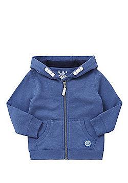 F&F Zip-Through Hoodie - Blue