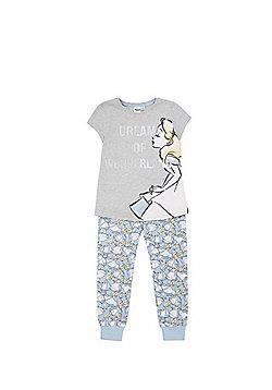 Disney Alice in Wonderland Pyjama Set - Blue