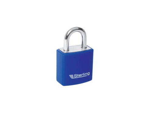 Sterling Apl022P Alu.Padlock Single Lock 20Mm