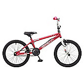 Rooster Radical 20 BMX Bike Pink/White with Spoke Wheels