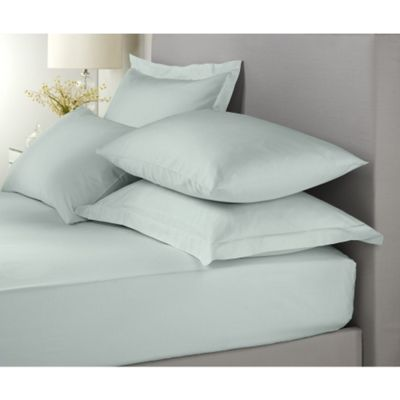 Signature Duck Egg Extra Deep Fitted Sheet (38cm) - King