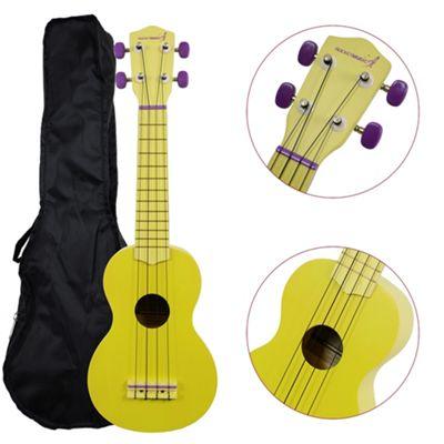 Rocket Soprano Ukulele inc Bag - Lemon