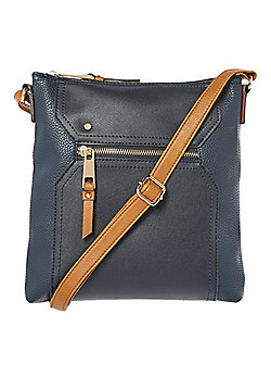 Womens bags purses handbags clutches tesco ff passport cross body bag navy one size negle Gallery