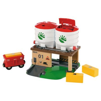 Brio Farm Silo, wooden toy