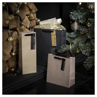 Buy tesco gold gift bags 3 pack from our christmas gift boxes tesco gold gift bags 3 pack negle Images
