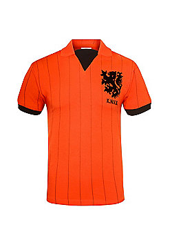 Holland Mens 1983 1994 Retro Shirt - Orange