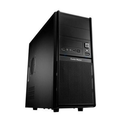 Cooler Master Elite RC-342 Computer Case - Micro ATX Motherboard Supported - Mini-tower - Black - 4 kg, 5.10 kg