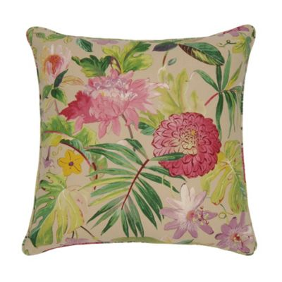Edinburgh Weavers Tropicana Cushion in Shingle