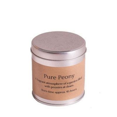 "St Eval /""Pure Peony/"" Scented Candle in a Tin"