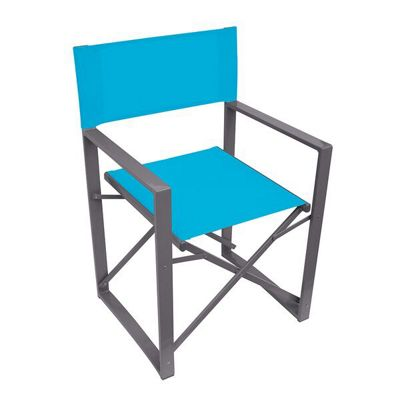 Yellowstone Vector Folding Director Chair Blue
