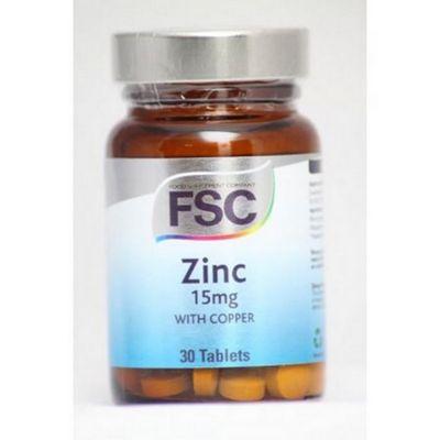 Zinc 15Mg W/Copper