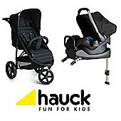 Hauck Rapid 3 Isofix Shop n Drive Travel System - Caviar/Black