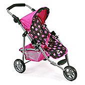Chic 2000 Lola Jogging Stroller - Pink Dots