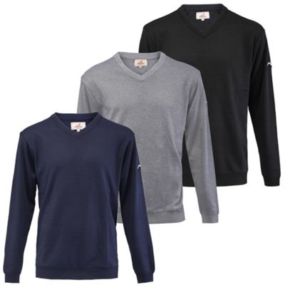 Woodworm Golf Long Sleeve Solid Sweater - 3 Pack Large