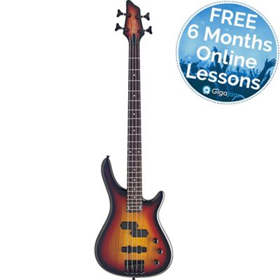 Electric Bass Guitar - Sunburst